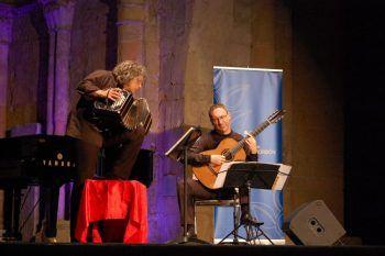 El estreno mundial de una obra compuesta para el Dúo Bandini-Chiacchiaretta cierra la Semana de Música de Cámara de MUSEG