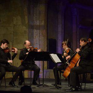 Lleno en Segovia para disfrutar del legendario Borodin, uno de los mejores cuartetos de cuerda del mundo