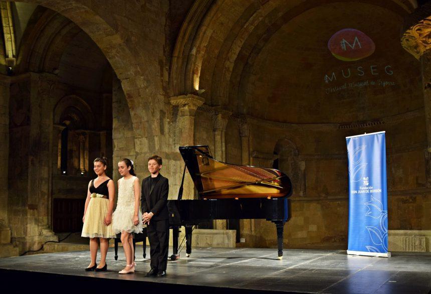 Arranca el Festival Joven de MUSEG con los ganadores del 21 Premio Infantil de Piano Santa Cecilia