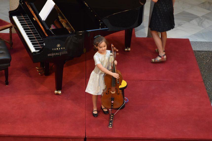 Una jornada dedicada a jóvenes promesas del violonchelo marca el ecuador del Festival Joven de MUSEG