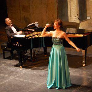 La soprano Laura del Río llena San Juan de los Caballeros en el broche final del Festival Joven de MUSEG