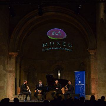 Cuatro saxos europeos, uno de ellos segoviano, para homenajear a Debussy en la Semana de Música de Cámara de MUSEG