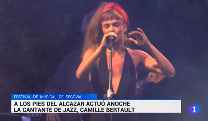 MUSEG en Noticias RTVE: Camile Bertault da su primer concierto en España