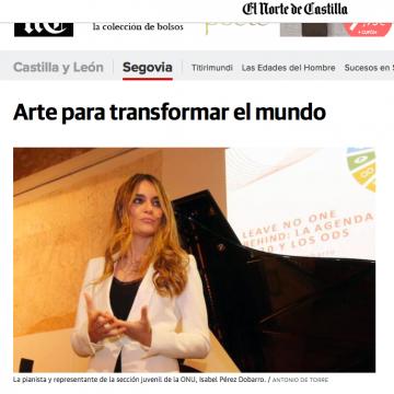 El Norte de Castilla: Arte para transforma el mundo
