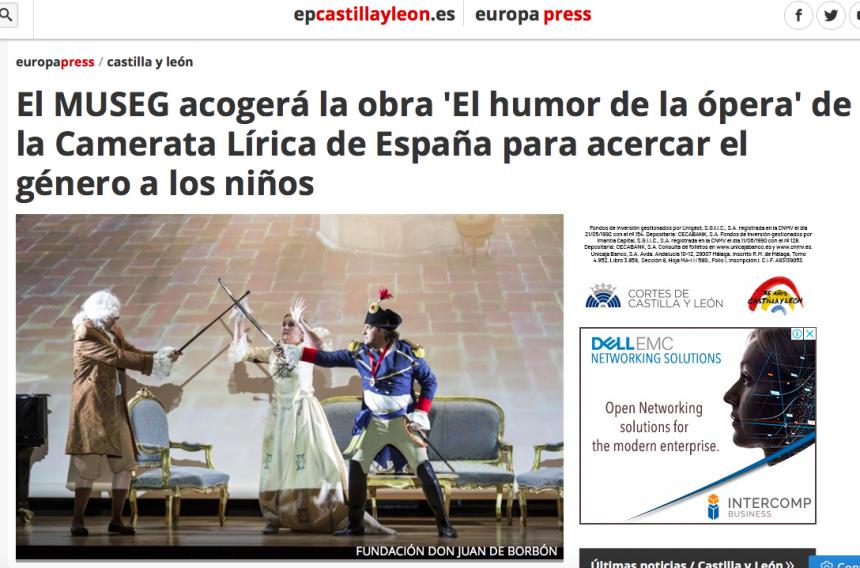 El MUSEG acogerá la obra 'El humor de la ópera' de la Camareta Lírica de España para acercar el género a los niños
