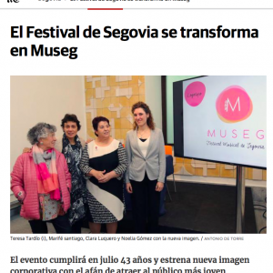 El Festival de Segovia se transforma en MUSEG