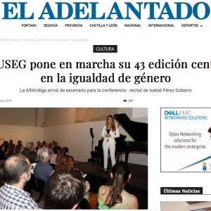 EL ADELANTADO: El MUSEG pone en marcha su 43 edición centrado en la igualdad de género