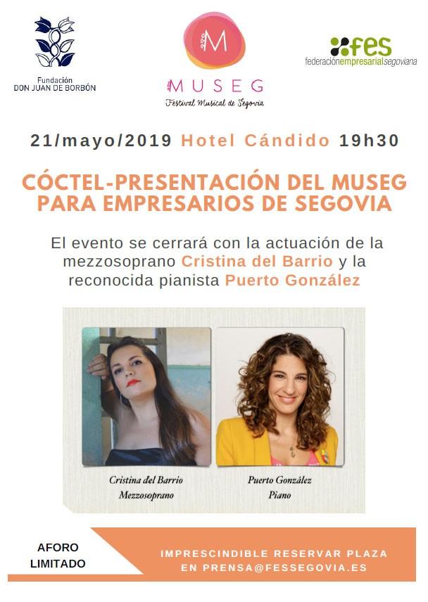 FES y la Fundación Don Juan de Borbón organizan el 21 de mayo un acto de presentación de MUSEG dirigido a empresarios