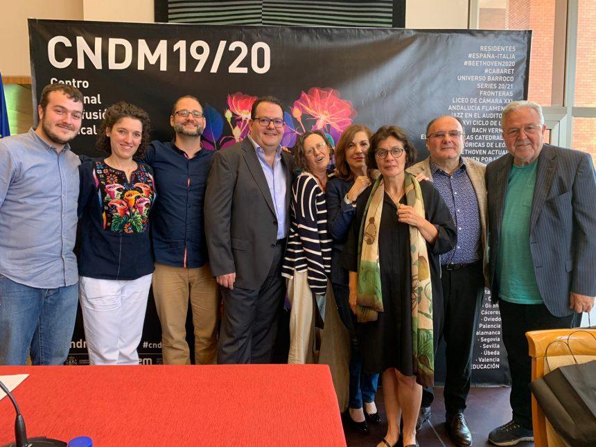 Segovia, presente de nuevo en la programación del CNDM 19/20