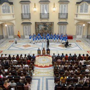 La Escolanía de Segovia, Premio Aniceto Marinas a la mejor trayectoria artística del Centro Segoviano en Madrid