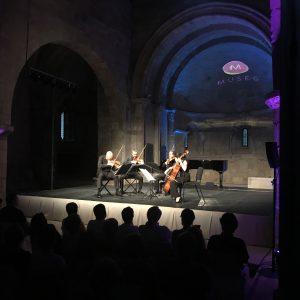 MUSEG recibe a Cuarteto Quiroga, máximo referente de la música de cámara española
