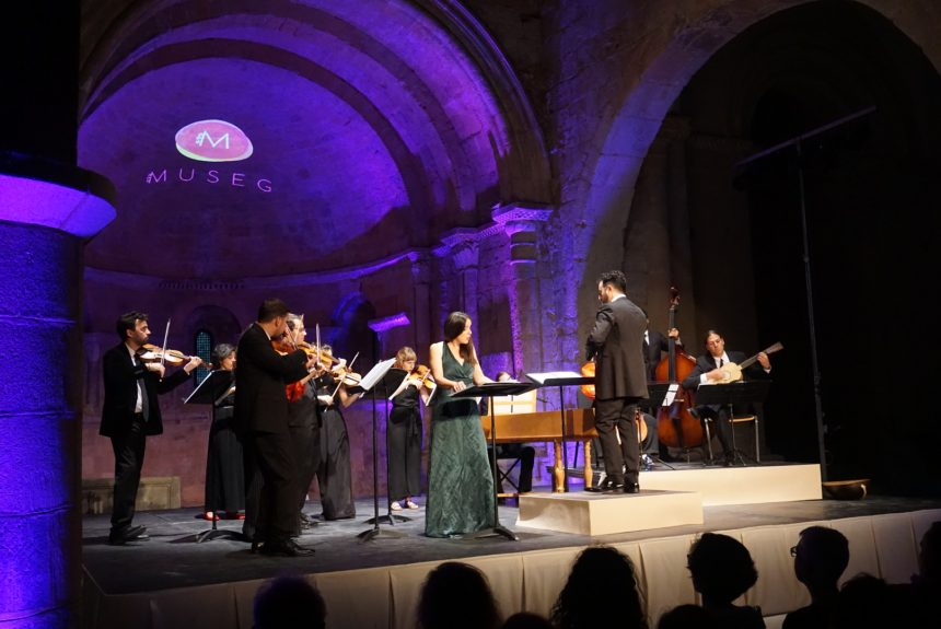 La Orquesta Nereydas y la soprano María Espada elevan a las mujeres de la ópera en MUSEG
