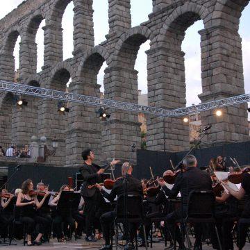 La Orquesta Sinfónica de Castilla y León cierra en MUSEG su gira Plazas Sinfónicas