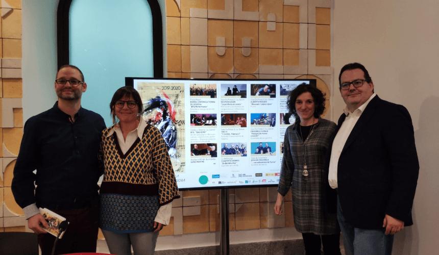 Las XXVII Jornadas de Música Contemporánea de Segovia fomentan su vocación formativa e incorporan nuevos colaboradores