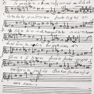 Aplazado – Taller de canto gregoriano: Las melodías de San Frutos.