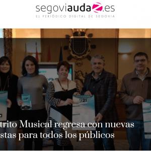 921 Distrito Musical regresa con nuevas propuestas para todos los públicos