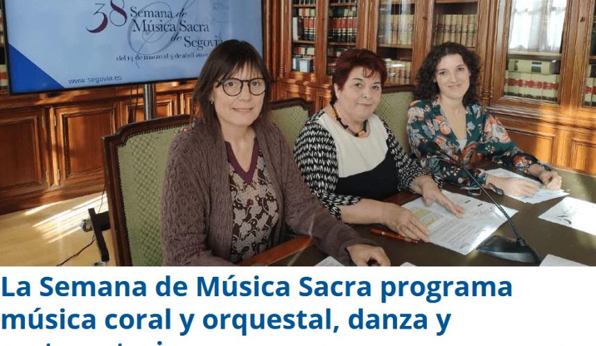 La Semana de Música Sacra programa música coral y orquestal, danza y cortometrajes
