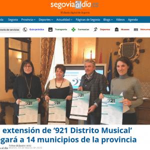 La extensión de '921 Distrito Musical' llegará a 14 municipios de la provincia
