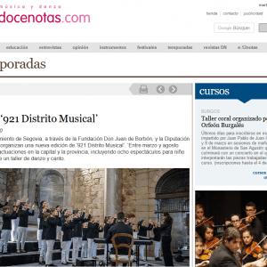 Ciclo '921 Distrito Musical'