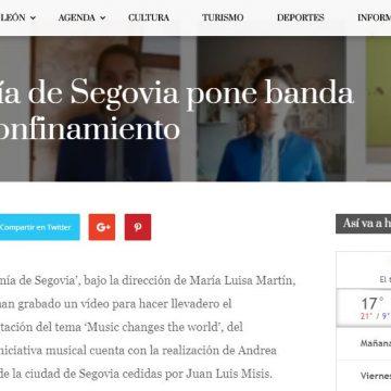 La Escolanía de Segovia pone banda sonora al confinamiento