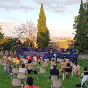 La magia de Andreas Prittwitz y el conjunto instrumental Lookingback en Segovia
