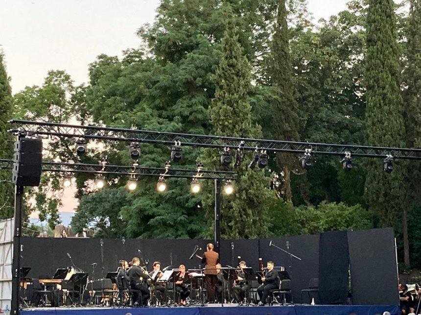 Magnífica actuación del Ensemble de la Orquesta Sinfónica de Castilla y León en Segovia