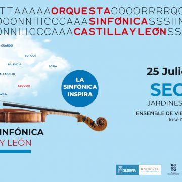 El Ensemble de la Orquesta Sinfónica de Castilla y León recala en 'Segovia, un oasis de cultura'