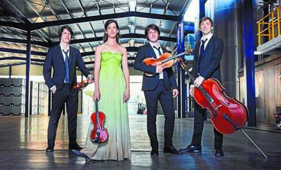 Sábado 6 de febrero 18.00h –  Cuarteto Gerhard