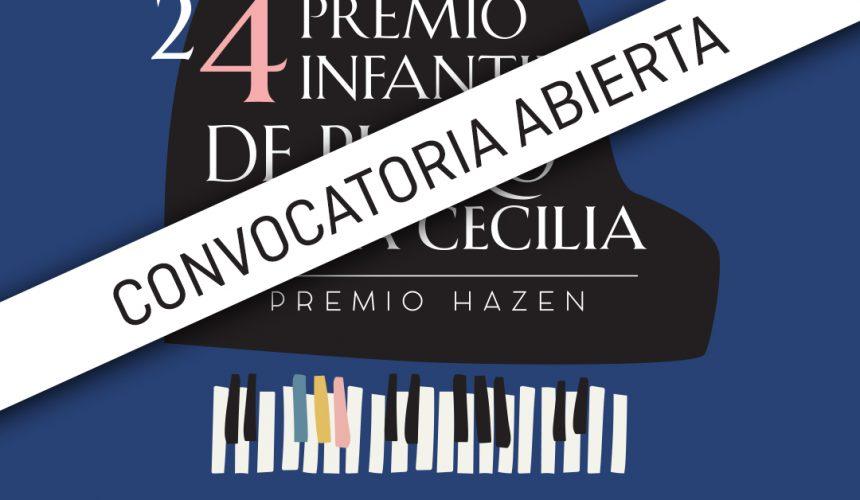 Abierta la inscripción del 24 Premio Infantil de Piano Santa Cecilia – Premio Hazen, cuya fase eliminatoria se celebrará online