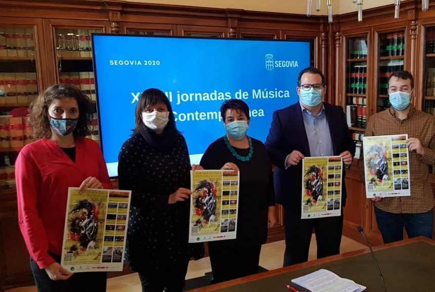 Las XXVIII Jornadas de Música Contemporánea de Segovia brillan con nueve conciertos, ocho estrenos absolutos, talleres de música contemporánea y una exposición sonora