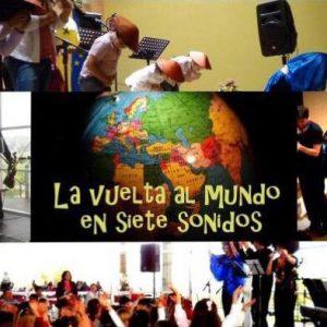 Sábado 26 de diciembre 18.30h, Sala Fundación Caja Segovia – La vuelta al mundo en 7 sonidos