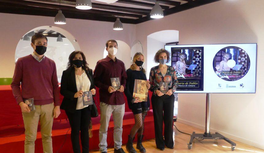 La Fundación Don Juan de Borbón presenta el disco con la música de cámara de María de Pablos