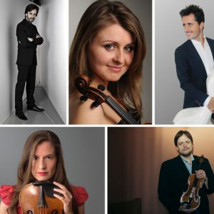 Quintetos de Brahms y Schumann