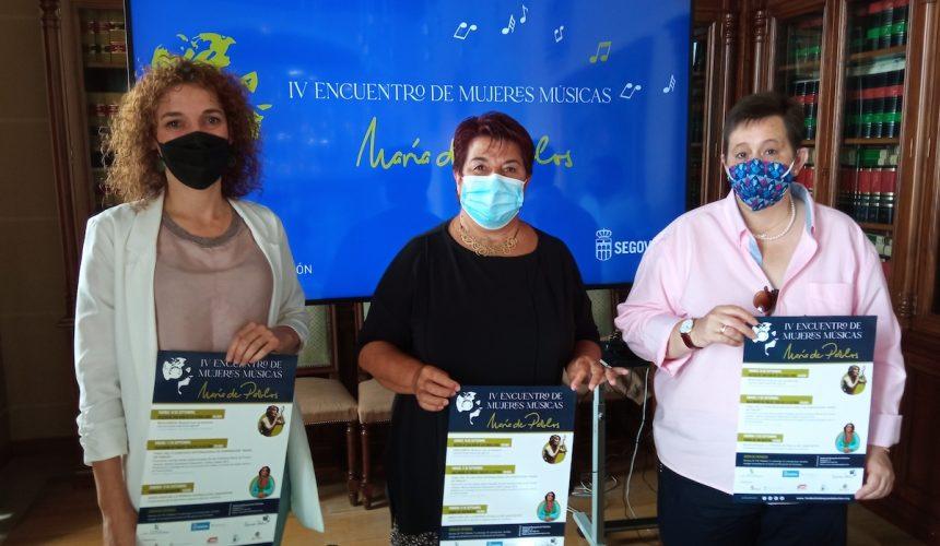 La escritora afgana Nadia Ghulam y la cantante siria Linda Al Ahmad, en el 'IV Encuentro de Mujeres Músicas María de Pablos', del 10 al 12 de septiembre en Segovia